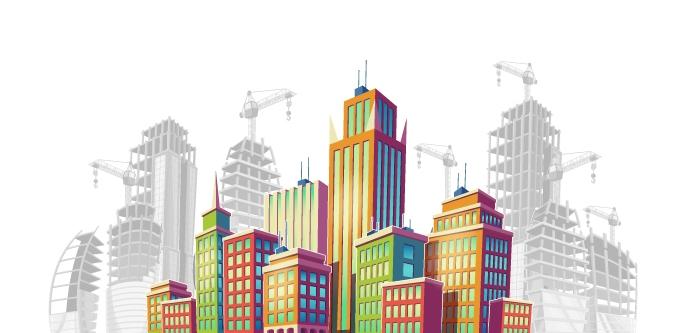 commercial property illustration