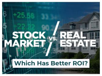 real estate investment vs stocks